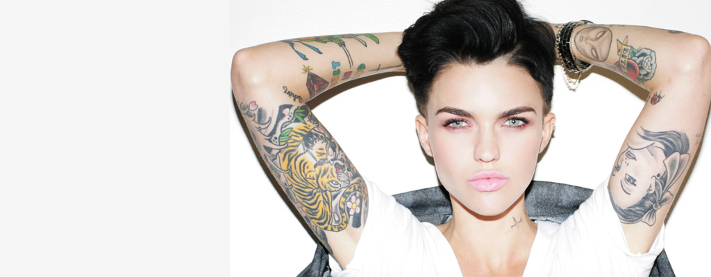 5 Stylish Hairstyle from Ruby Rose