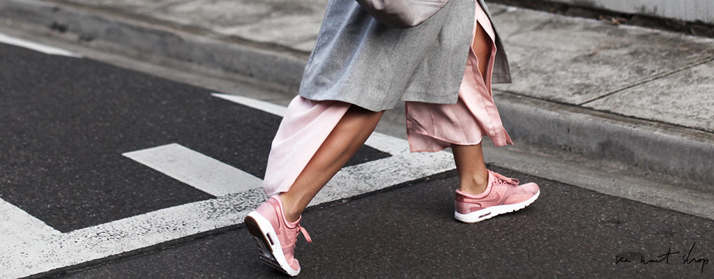 How to Match Sneakers With Your Spring Dresses