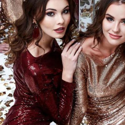 10 Sequin Party Dresses to Make Everyone Can't Take an Eyes Off of You!