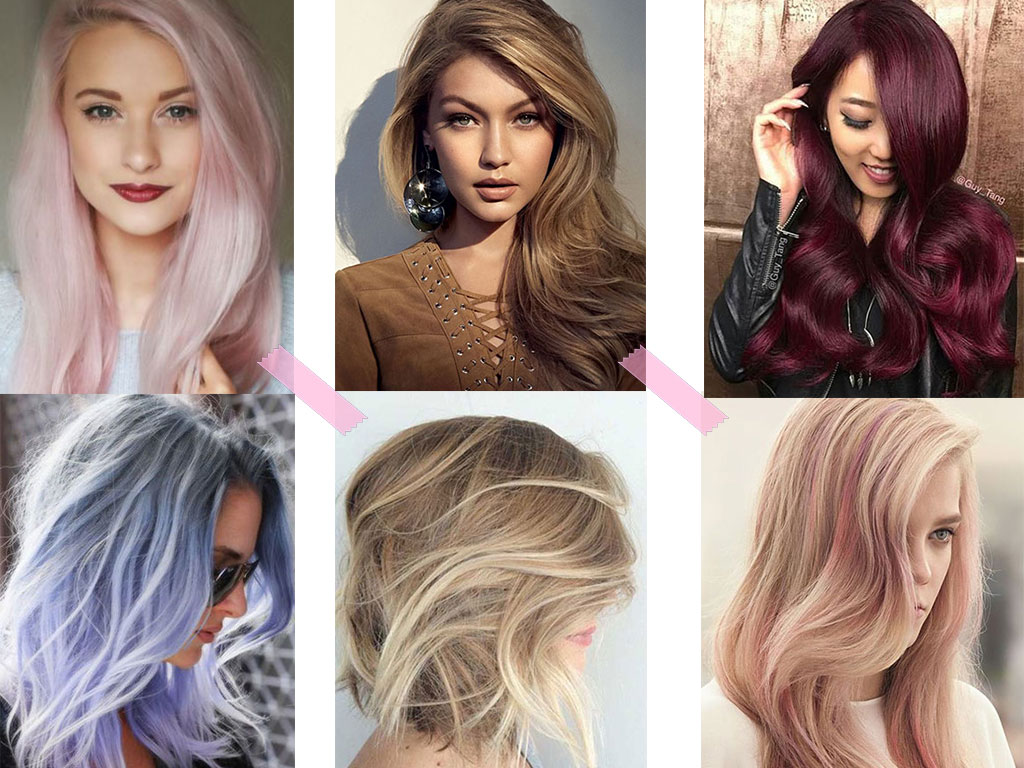 8 Hair Color Trends In 2016
