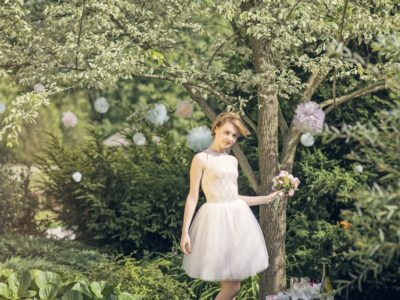 How to rock Short Wedding Dress