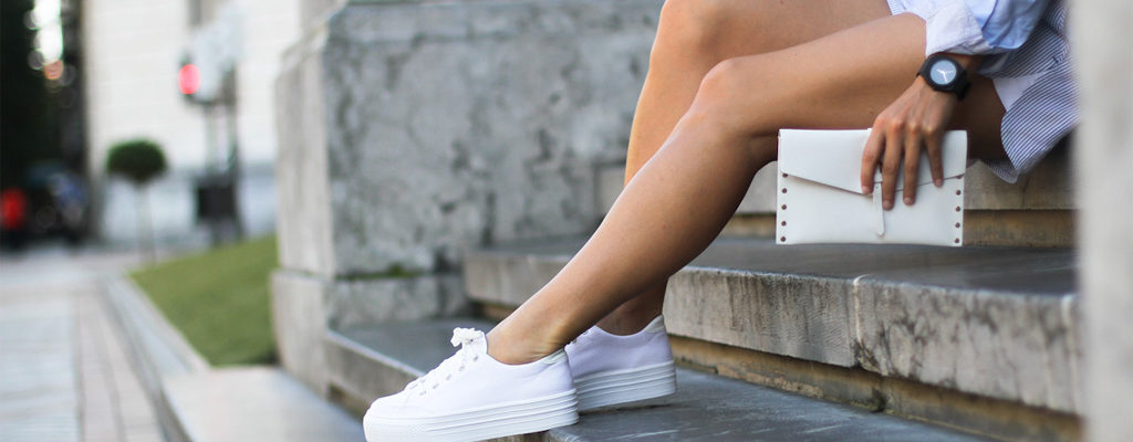 5 Cool Women's Sneaker Trends