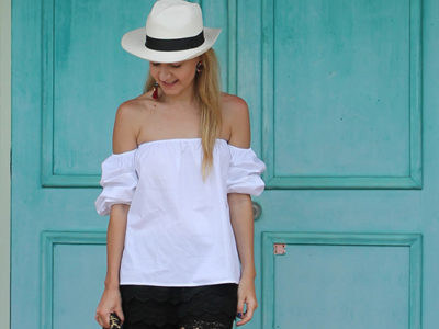 How to Wear Off The Shoulder Tops