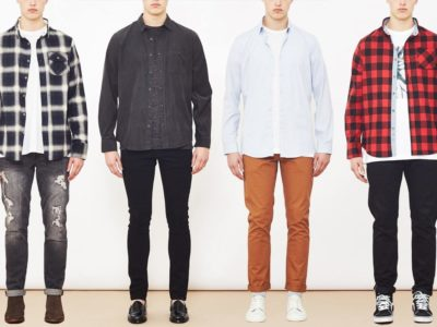 How To Wear A Classic Shirt And T-Shirt Combination