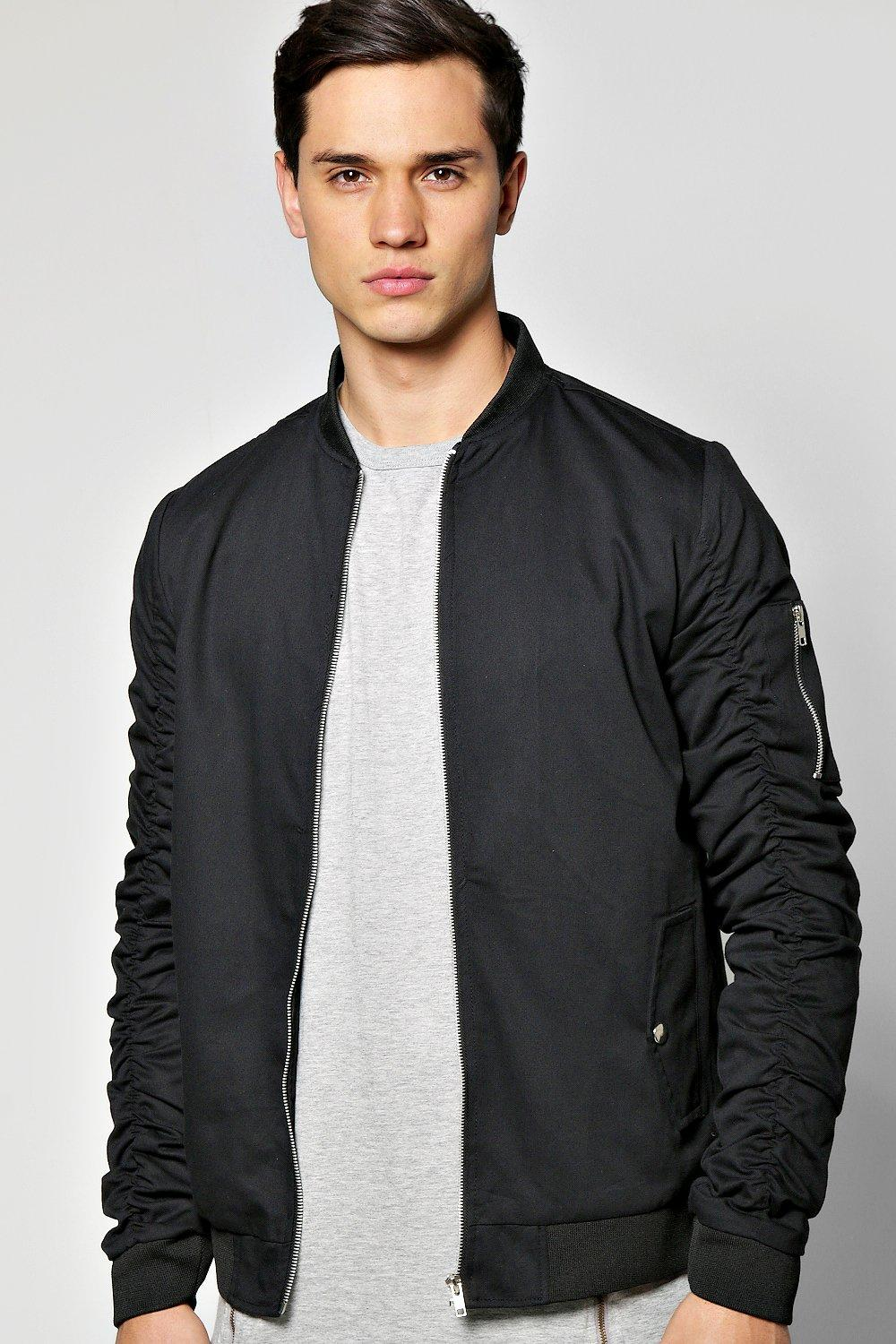 Men's Air Force A-2 Leather Flight Bomber Jacket. A best pick for a classic leather version that's well made.