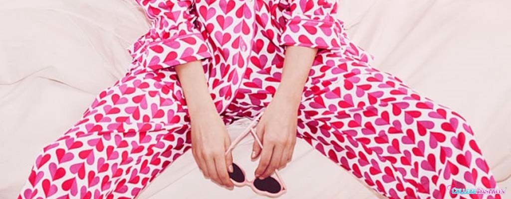 6 Heart-Print Pajamas Prepare for Your Perfect Valentine's Day