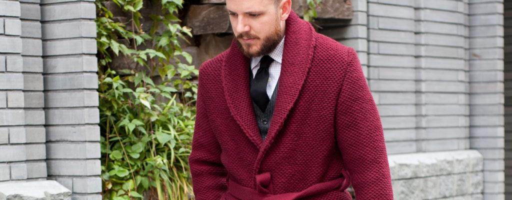 How Men Wear A Cardigan