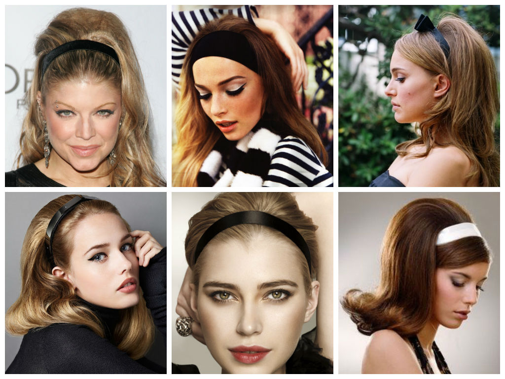 Hairstyles With A Thick Headband