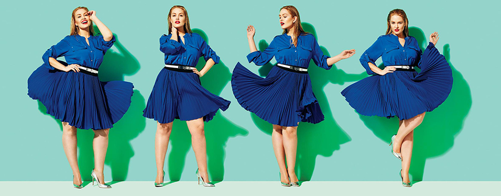 Dress the best out of you, Go plus sized girls!