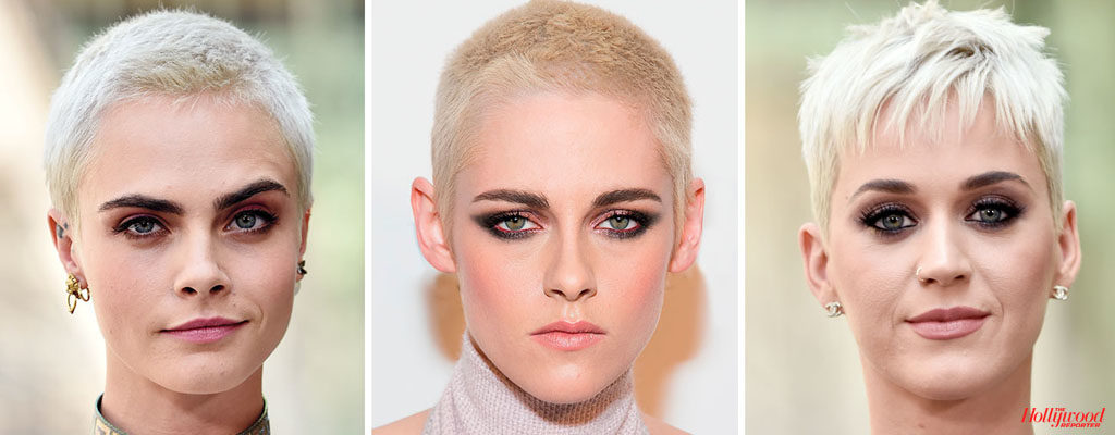 9 Celebrities With Her Surprising Buzz Cuts in 2017