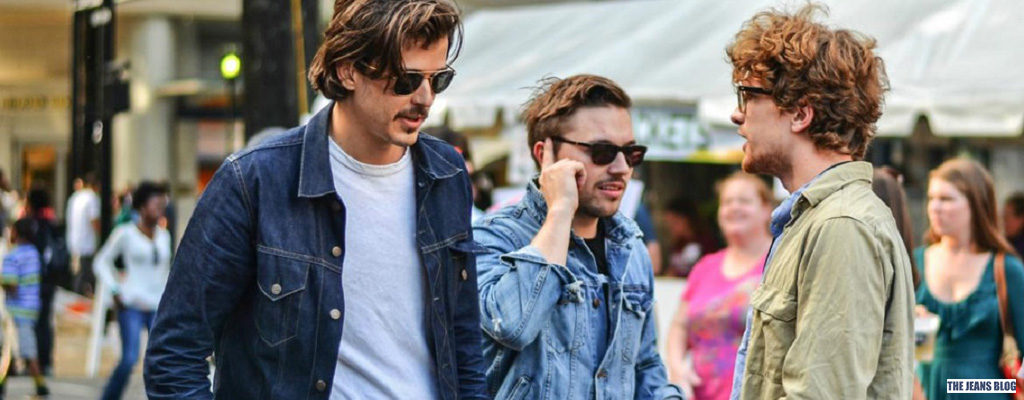 Men Trend: What to Wear with a Denim Jacket in a Casual Style
