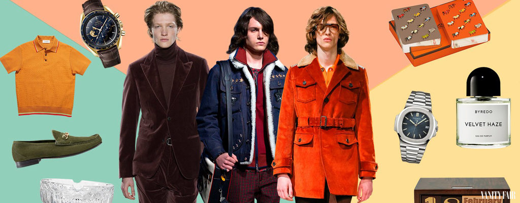 Men's Trend: How to Get the 70s Style Prepare Yourself for New Year's Party