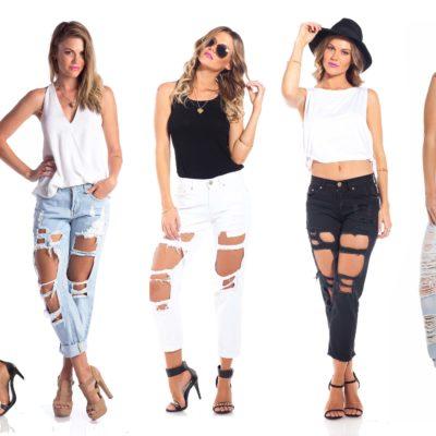 มาเลือกใส่กางเกงยีนส์เอวสูงให้เหมาะกับรูปร่างกันเถอะ!
