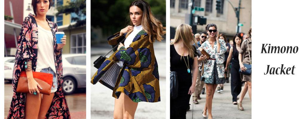 Kimono Jacket 7 วัน 7 สไตล์