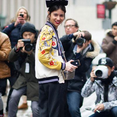 แฟชั่น Street Style สุดปังจาก New York Fashion Week Spring 2017