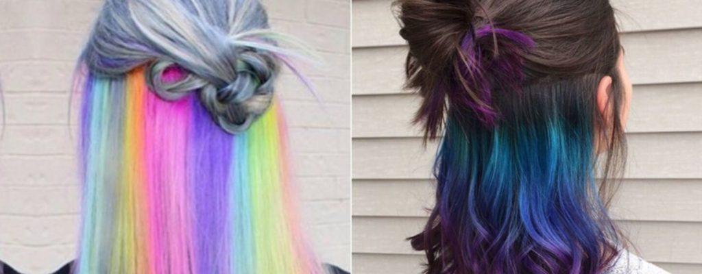Hidden Rainbow Hair: เทรนด์สีผมฮิตล่าสุดที่ต้องลอง