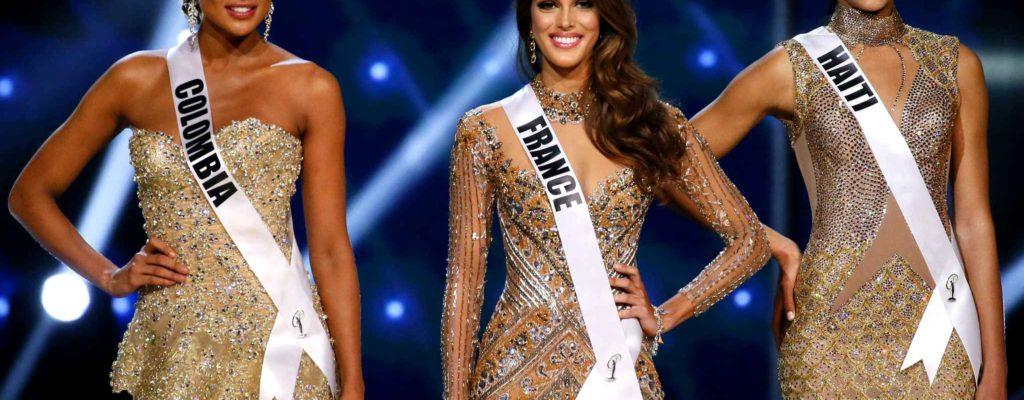 ยลโฉมสาวงามผู้ครองอันดับ3คนสุดท้ายในรายการ Miss Universe 2017