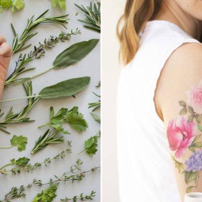 Welcome To Wonderland กับ Temporary tattoosที่มีกลิ่นหอมเหมือนเอาดอกไม้จริงๆมาประดับบนผิว