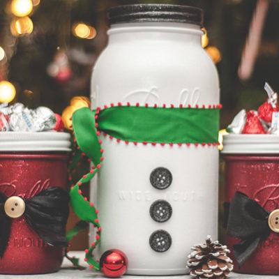 ชวนมาแต่งบ้านรับคริสต์มาสให้มุ้งมิ้งด้วยไอเดียสุดฟรุ้งฟริ้งง่ายๆด้วยMason Jar